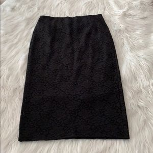 Abercrombie & Fitch Elastic Waist Lace Skirt